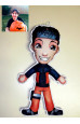 Nikadoll - Boneco de Pano Personalizado - 1 Pessoa